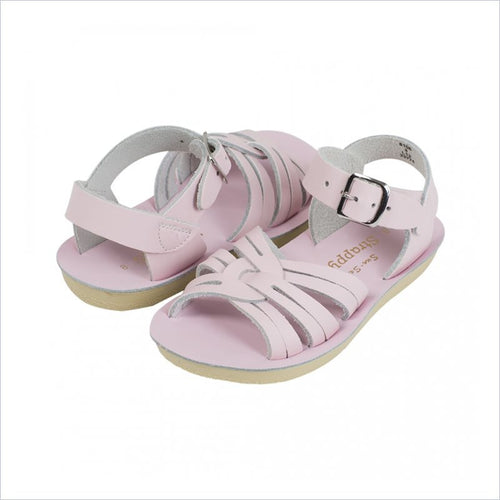 Salt Water Sandal Strappy in Shiny Pink