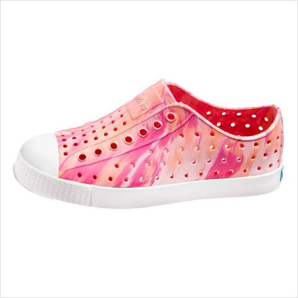 Native Shoes Jefferson Marbled Child Princess Pink