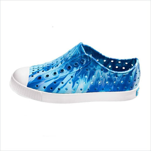 Native Shoes Jefferson Marbled Child Victoria Blue