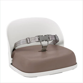 Oxo Tot Perch Booster Seat with Straps in Taupe