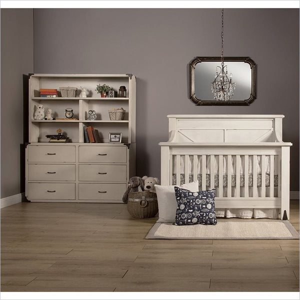 Franklin & Ben Providence 2 Piece Set in Distressed White