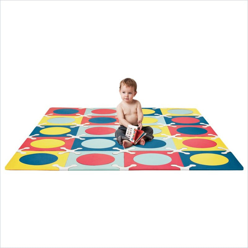 Skip Hop Playspot Interlocking Foam Tiles in Multi Mix