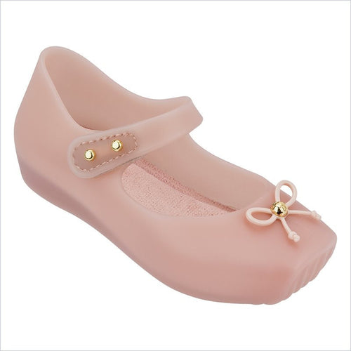 Mini Melissa Ballet Flat in Light Pink