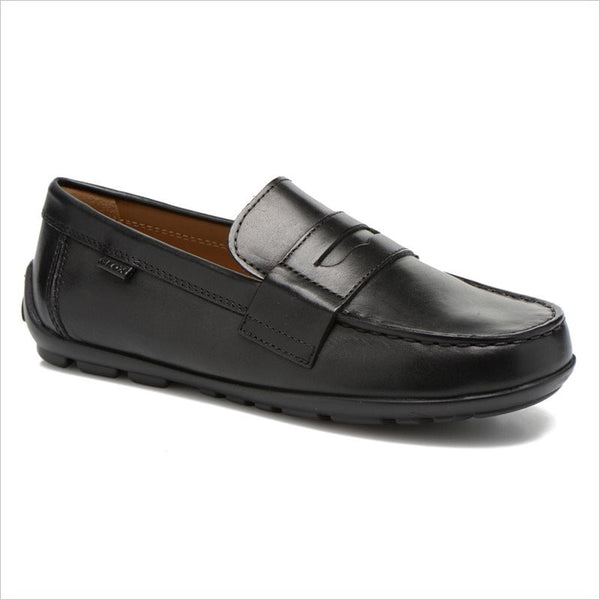 Geox Slip On Shoes in Black