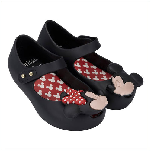 Mini Melissa Ultragirl Disney Twins in Black