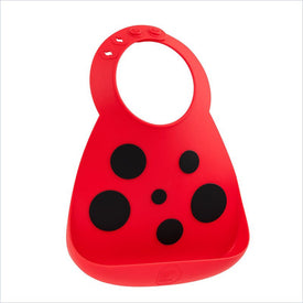 Make My Day Baby Bib Lady Bug