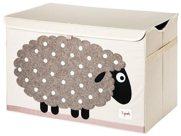 3 Sprouts  Toy Chest in Sheep Beige
