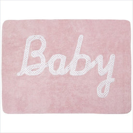Lorena Canals Washable Rugs Baby Petit Point Pink