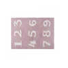 Lorena Canals Washable Rugs numeros Pink