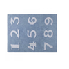 Lorena Canals Washable Rugs numeros Blue