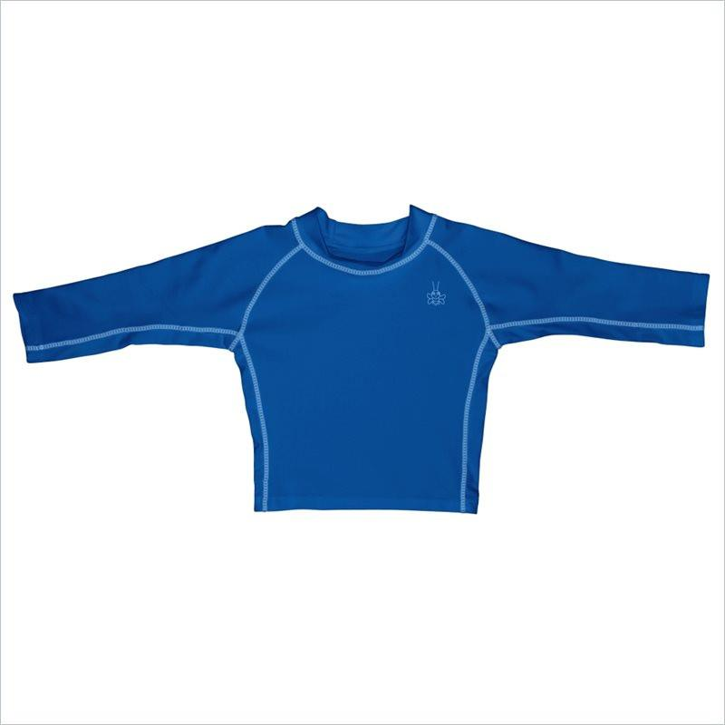 I play. Long Sleeve Rashguard Shirt in Royal
