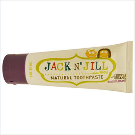 Jack N' Jill Natural Toothpaste Organic Blackcurrant