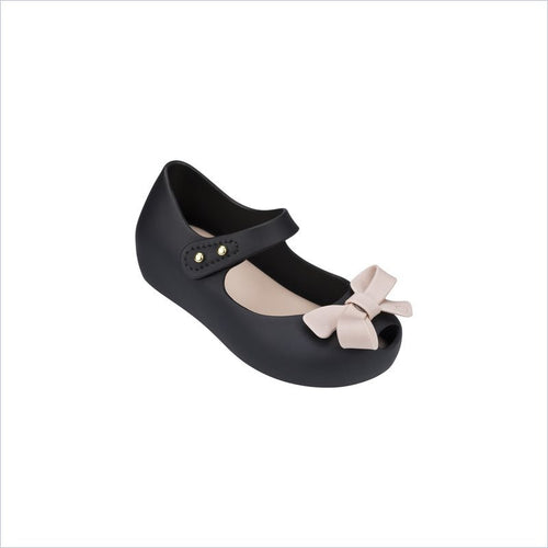 Mini Melissa Ultragirl Bow Ii in Black/Pink