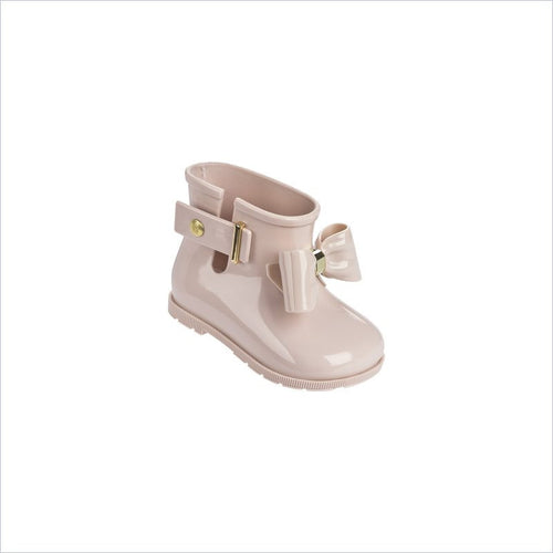Mni Melissa Sugar Rain Bow Boot in Light Pink