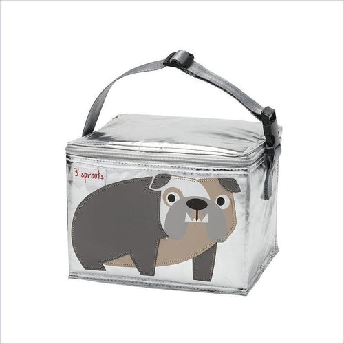 3 Sprouts Lunch Bag in Bulldog