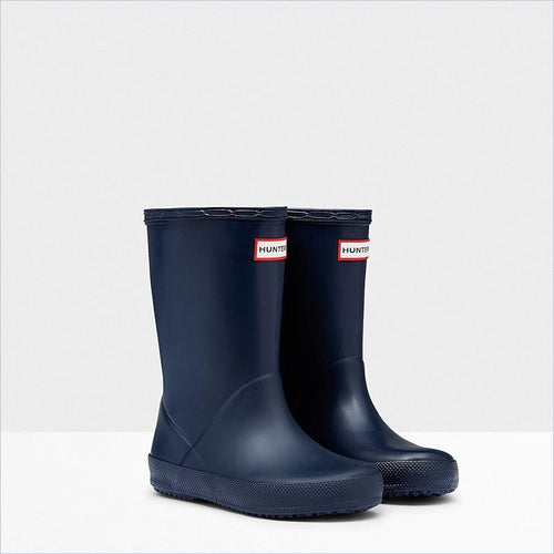 Hunter Kids First Classic Rain Boots in Navy