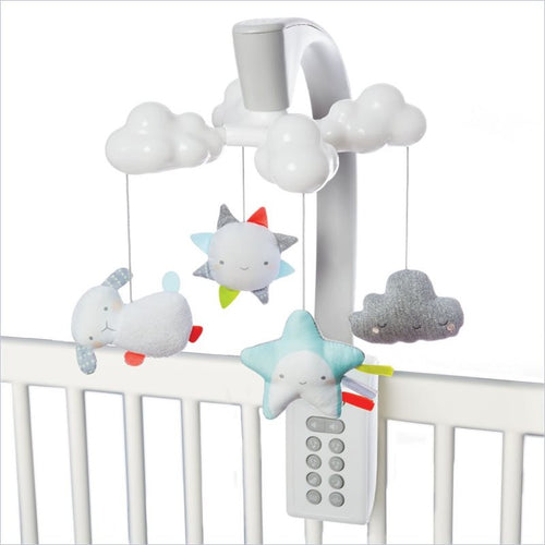 Skip Hop Moonlight & Melodies Nursery Accessories Projection Mobile In Cloud