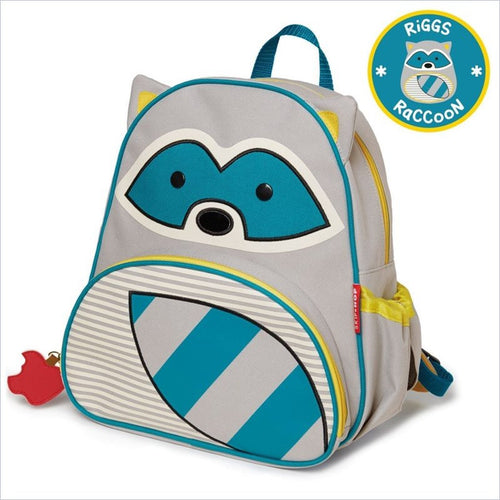 Skip Hop Zoo Pack Little Kid Backpacks in Raccoon