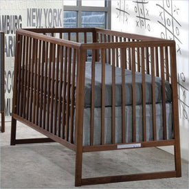 Tulip Rio Crib in Walnut