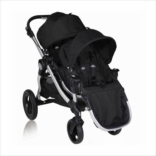 Baby Jogger City Select Baby Stroller and Second Seat Set in Onyx