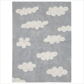Lorena Canals Washable Rugs in Clouds Grey