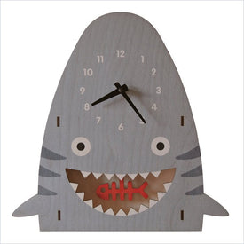 Modern Moose Shark Pendulum Wall Clock