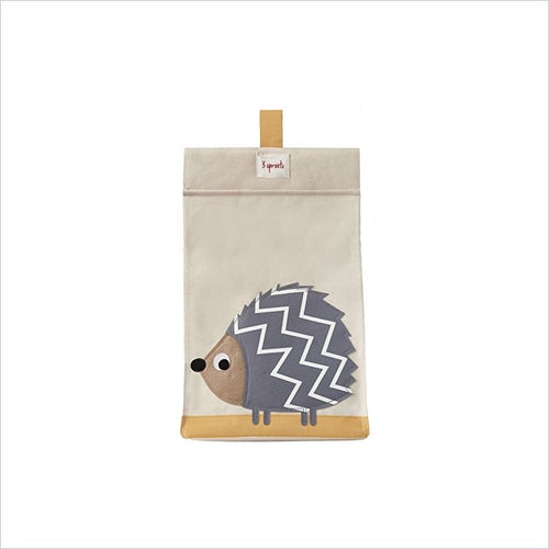 3 Sprouts Diaper Stacker in Hedgehog Gray