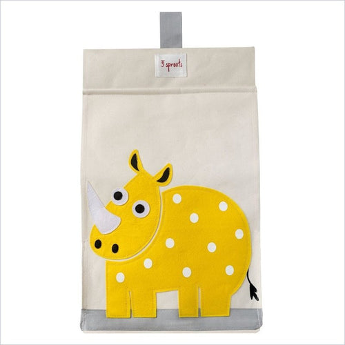 3 Sprouts Diaper Stacker in Rhino Yellow