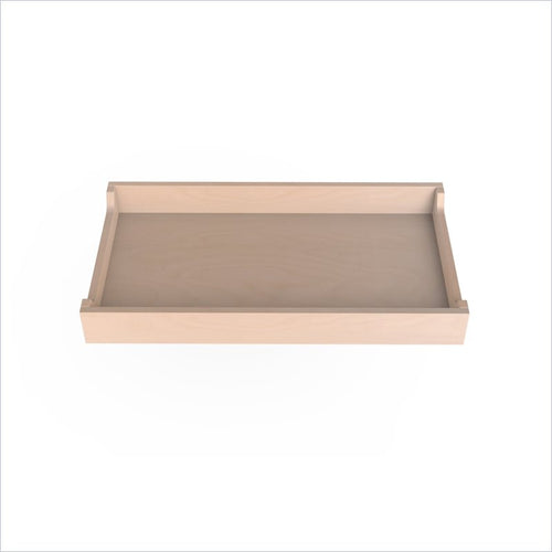 "Spot On Square 34"" Wide Changing Tray in Birch"