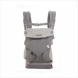 Ergo Baby 4 Position 360 Baby Carrier in Dewy Grey