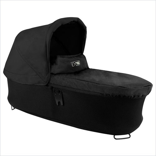 Mountain Duet Carrycot Plus in Black