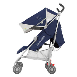 Maclaren Quest Stroller in Medieval Blue and Silver
