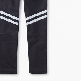Tea Collection Sporty Stripe Track Pants for Boys in Phantom