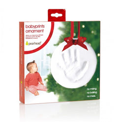 Pearhead Babyprints Ornament Round