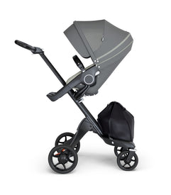 Stokke Xplory V6 Premium Collection in Black Chassis with Black Handle