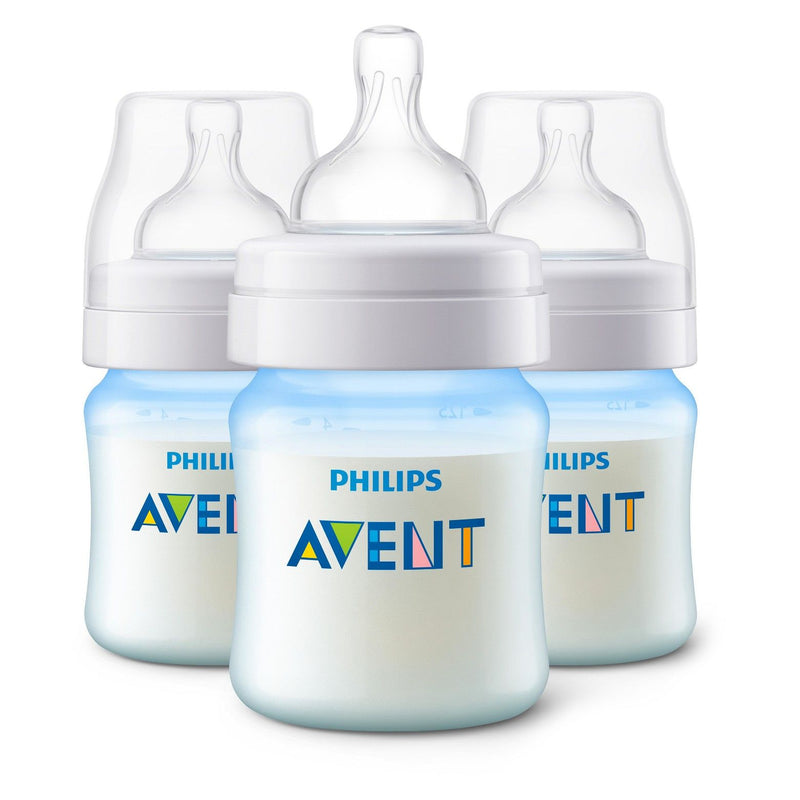 Philips Avent Anti-Colic Bottle with AirFree Vent - 4oz 3pk