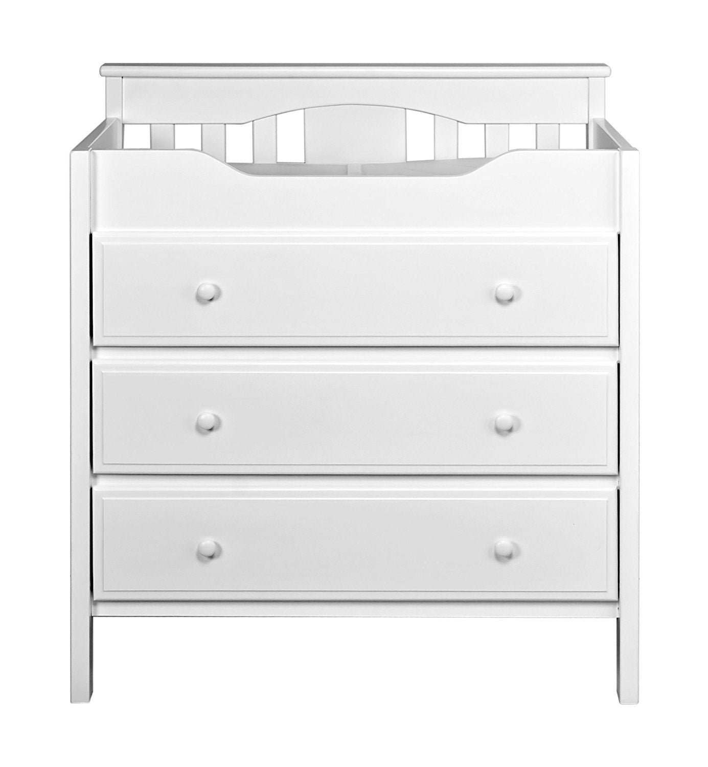 DaVinci Jayden 3 Drawer Changer Dresser in White