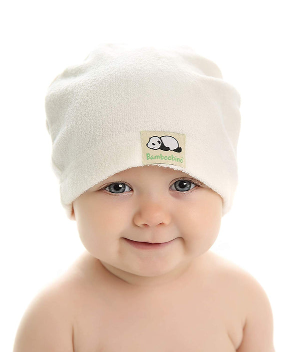 67a38e02d82 Bamboobino After-Bath Newborn Bamboo Baby Hat