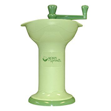 Green Sprouts Baby Food Mill in Green