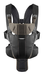 Baby Bjorn Miracle Baby Carrier in Organic Black/Brown
