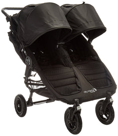 Baby Jogger City Mini GT Double Stroller in Black and Black