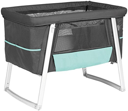 Babyhome Dream Air Baby Cot in Graphite