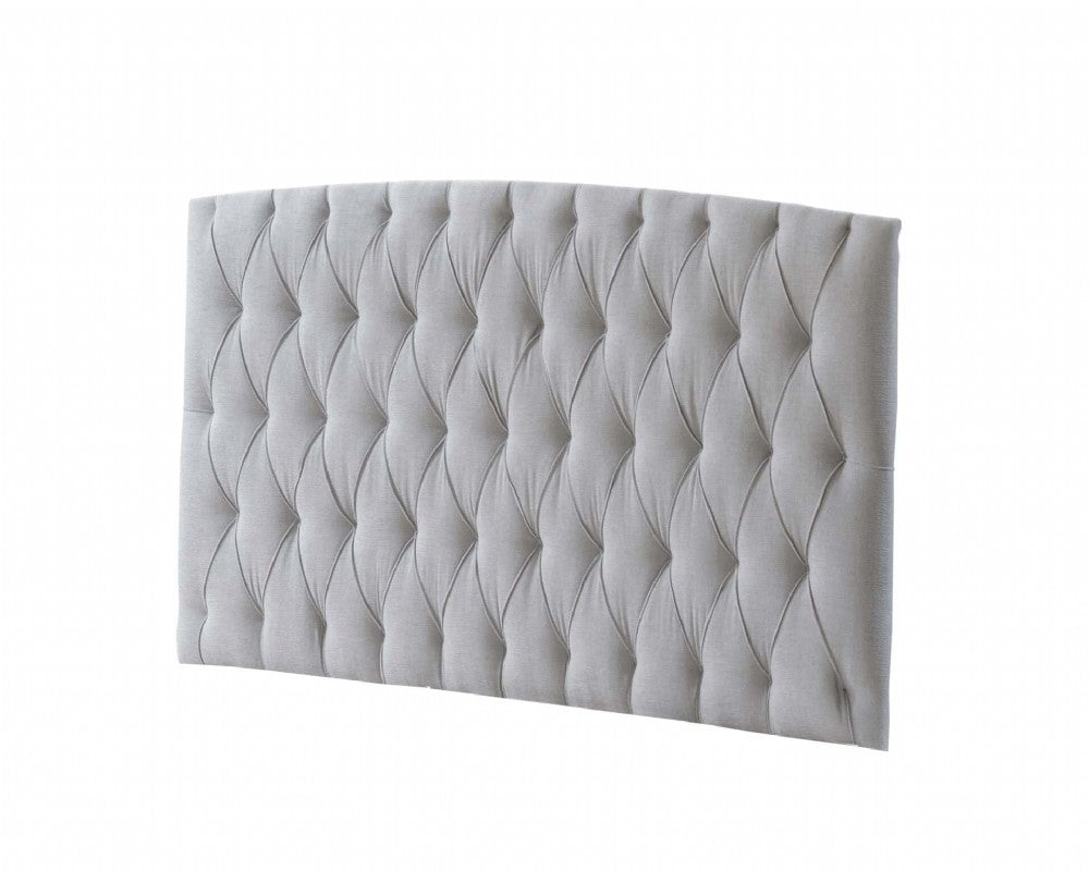 Natart Bella Upholstered Headboard Panel (Diamond Tufted)