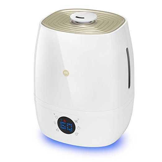Motorola Smart Humidifier (Warm/Cool Mist with Night Light)