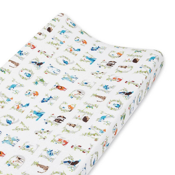 Aden + Anais Classic Changing Pad Cover in Paper Tales