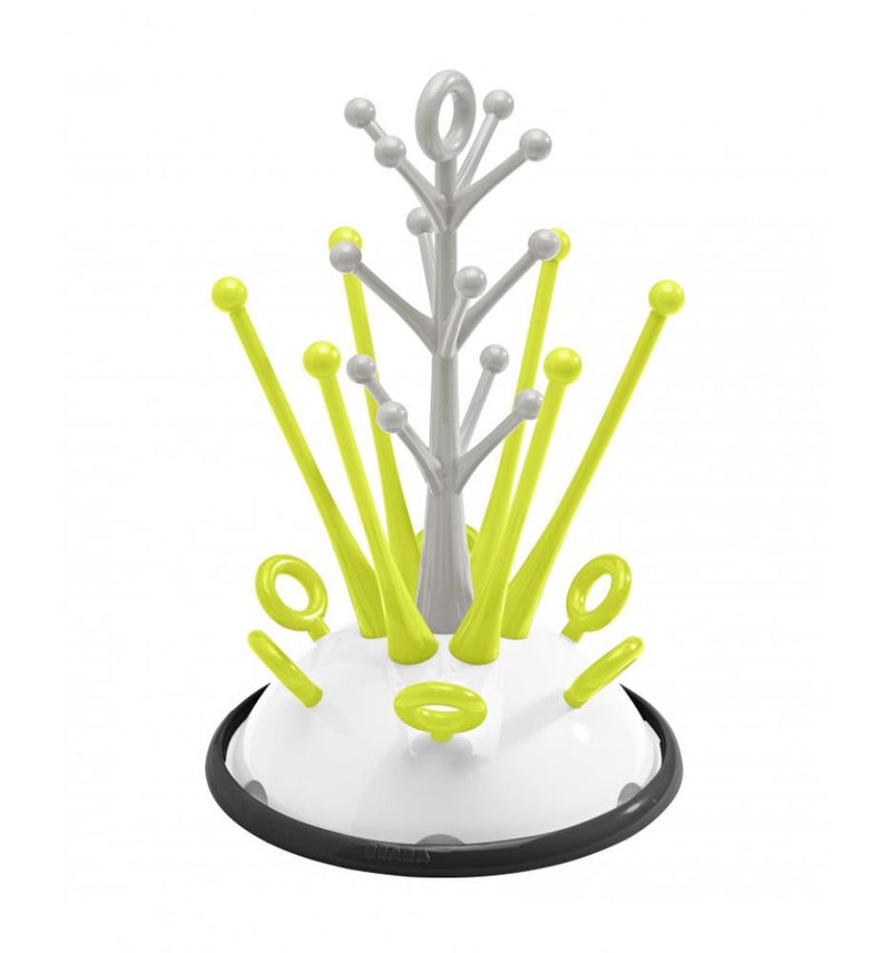 Beaba Bottle Drying Tree in Neon
