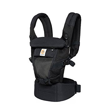 Ergobaby 3 Position Adapt Baby Carrier Cool Air Mesh in Onyx Black