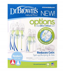 Dr Brown's Options PP Narrow Newborn Feeding Set