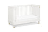 Franklin & Ben Tanner 3-in-1 Convertible Crib in Warm White