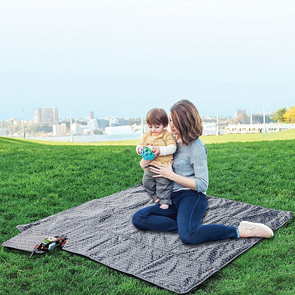 Skip Hop Central Park Outdoor Blanket and Cooler Bag